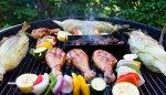 grill, jedzenie