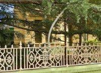 ozdobne ogrodzenie posesji